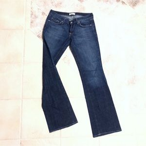 🆕 Deluxe Premium Denim boot cut stretch jeans 28